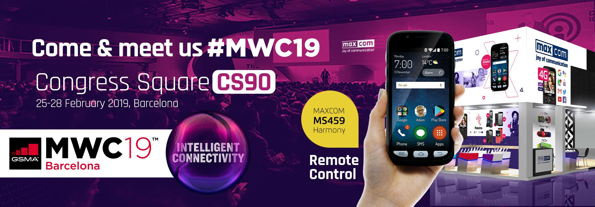 Come and meet us at MWC 2019 in Barcelona