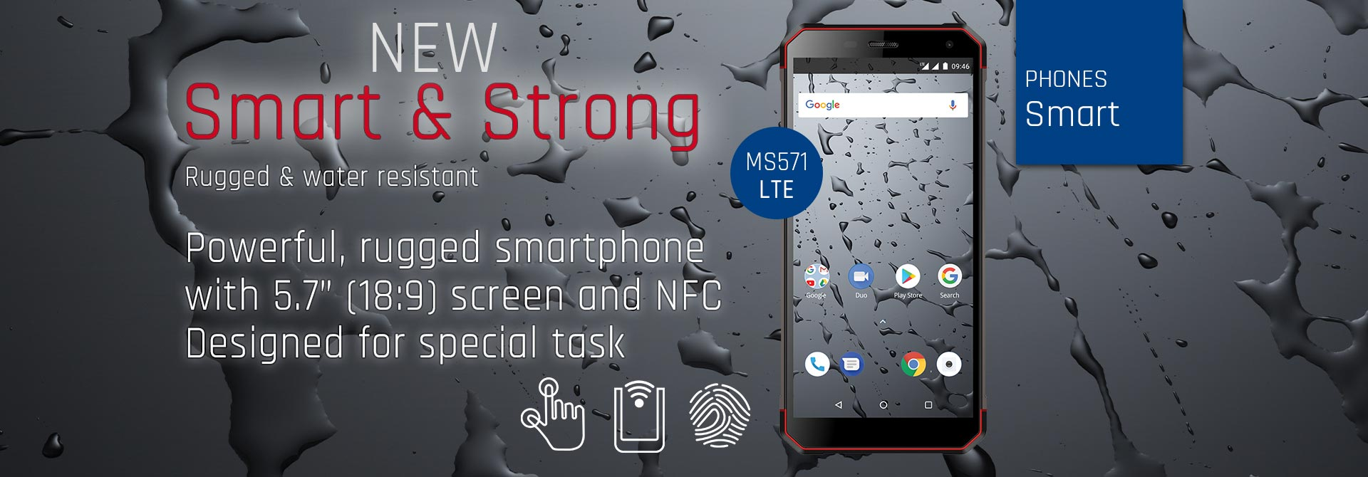 New Smart & Strong MS571 LTE